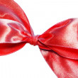 Red present bow — Stock Photo