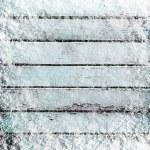 Boards in snow — Stock Photo