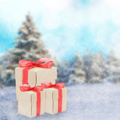 Urlaub winter — Stockfoto