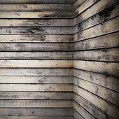 Wooden corner — Stock Photo