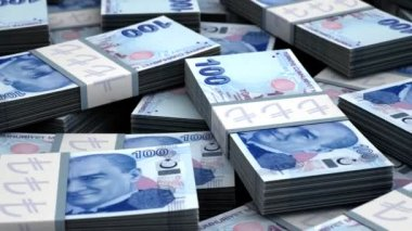 Billion Turkish Lira — Stock Video