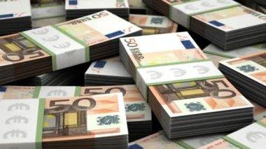 Billion euro — Stock Video