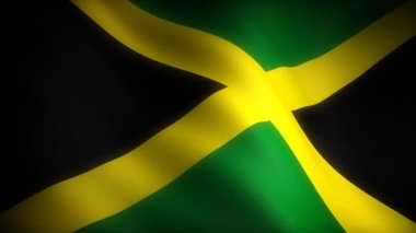 Flag of Jamaica — Stock Video #29283989