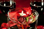 Red wine harmony — Stock Photo