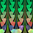 Fractal spruce forest — Stock Photo