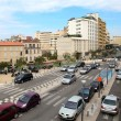 Europa Cityscape,Vew on the Wide boulevard, Marseille France - Stock Photo