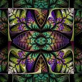 魔毯的叶子。计算机生成的图形. — 图库照片