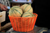 Melons fragrant sweet — Stock Photo