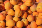 Group freshness sweet yellow peach — Stock Photo