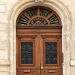 Door of an old residential house Marseille, France — Stock Photo