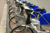 Estacionamento para bicicletas municipais em marselha — Foto Stock