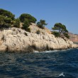 The famous Calanques of Cassis, near Marseille, in Bouches du Rh — Stock Photo