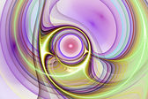 Abstract fractal pattern. Computer generated graphics. — Stock Photo
