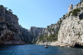 The famous Calanques of Cassis, near Marseille — Stock Photo