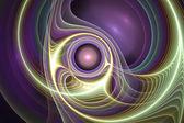 Abstrakt fraktala mönster. datorgenererad grafik. — Stockfoto