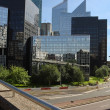 Modern buildings in the business district of La Defense — Stock Photo