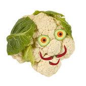 Portret z warzyw i owoców — Zdjęcie stockowe