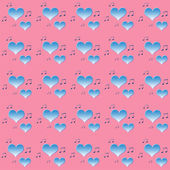 Pink-blue abstract  background in vintage style.  — Foto de Stock