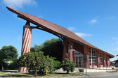Organic Architecture in Csenger, Hungary — Foto Stock