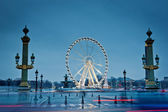 The big wheel in Paris, Place de la Concorde — Stock Photo