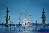 The big wheel in Paris, Place de la Concorde — Stock Photo