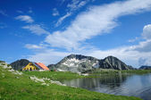 Tevno Lake in Pirin Mountain, Bulgaria — Stock Photo