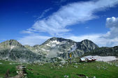 Beautiful mountain view in Pirin, Bulgaria — Stock Photo