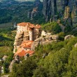Roussanou monastery at Meteora, Greece — Stock Photo