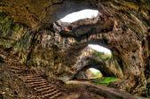 Cave near village Devetaki in Bulgaria — Stock Photo