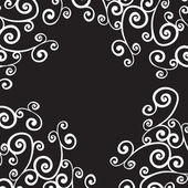 Curly background — Stock Vector