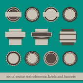 Web elements — Stock Vector