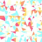 Fondo de triángulos — Vector de stock