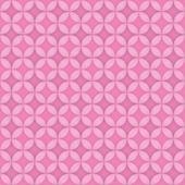 无缝粉色圆圈 — 图库矢量图片