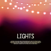 Lights — Stock Vector