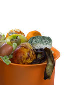 Ready for compost. Isolated. — Stock Photo