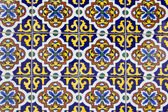 Old Spanish ceramic tiles — Stock Photo