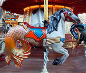 Retro carrousel — Stockfoto