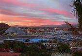 Cabo San Lucas, Mexico sunset view — Stock Photo