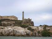 Closeup of Alcatraz Island in San Francisco, USA. — Stock Photo