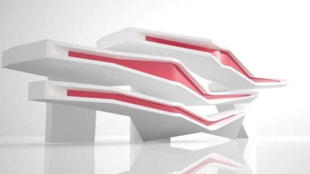 Arquitectura abstracta — Vídeo de stock