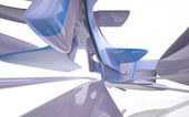 Abstract Architecture. Concept of organic architecture. — Stockfoto