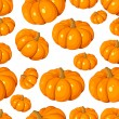Stock Vector: Seamless pattern with pumpkins. Vector EPS 8.