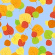 Royalty-Free Stock Vector Image: Seamless pattern with autumn leaves. Vector EPS 8.