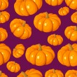 Seamless pattern with pumpkins. Vector illustration. — Stock Vector