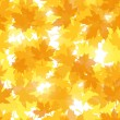 Royalty-Free Stock Vektorfiler: Seamless pattern with autumn maple leaves. Vector illustration.