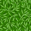 Seamless pattern with willow leaves. Vector illustration. — Stock Vector