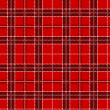 Royalty-Free Stock Imagen vectorial: Red tartan. Vector seamless pattern.