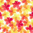 Seamless background with colorful flowers. Vector illustration. — Stock Vector #25849089