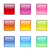 Set of colored web icons. Vector eps-10. — Stock Vector