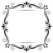 Vintage frame. Vector illustration. — Stock Vector